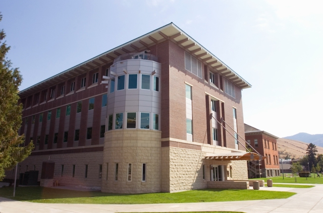 Don Anderson Hall, which opened in 2007, is home to UM's School of Journalism. Click on the image for a video tour of what's inside